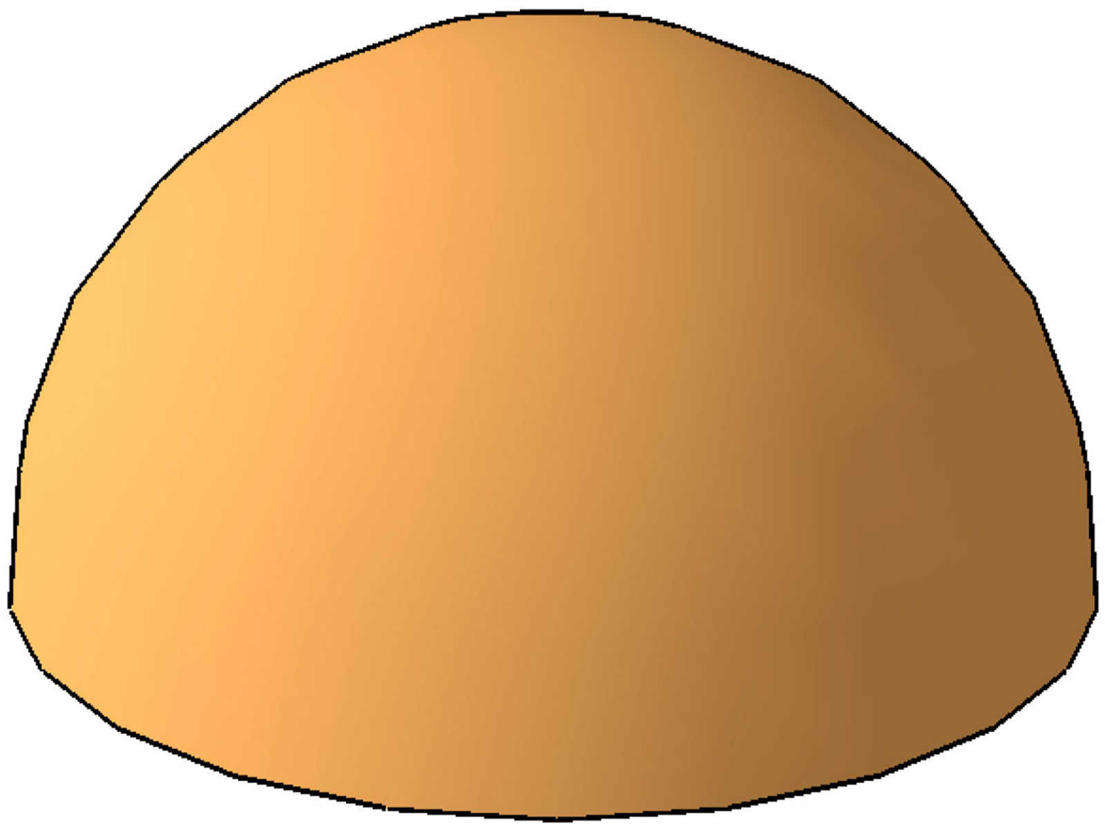Dome clipart hemispherical #1