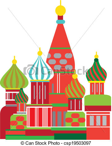 Dome clipart russian Illustration illustration russian moscow illustration