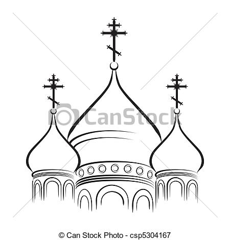 Dome clipart russian Cathedral Bulbous The of The