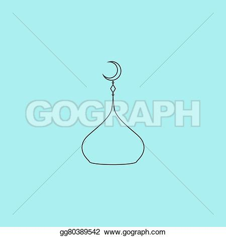 Dome clipart simple Simple  isolated Clip outline