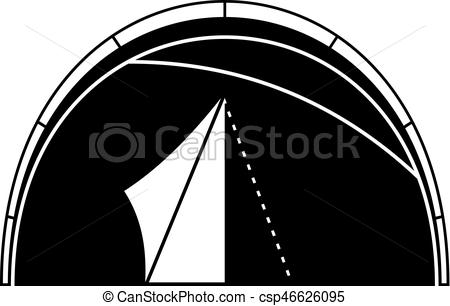 Dome clipart simple Style Dome csp46626095 tent icon