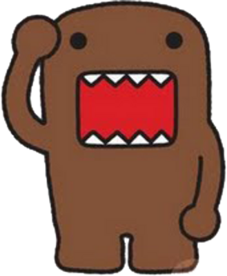 Domo clipart  watches what for domo
