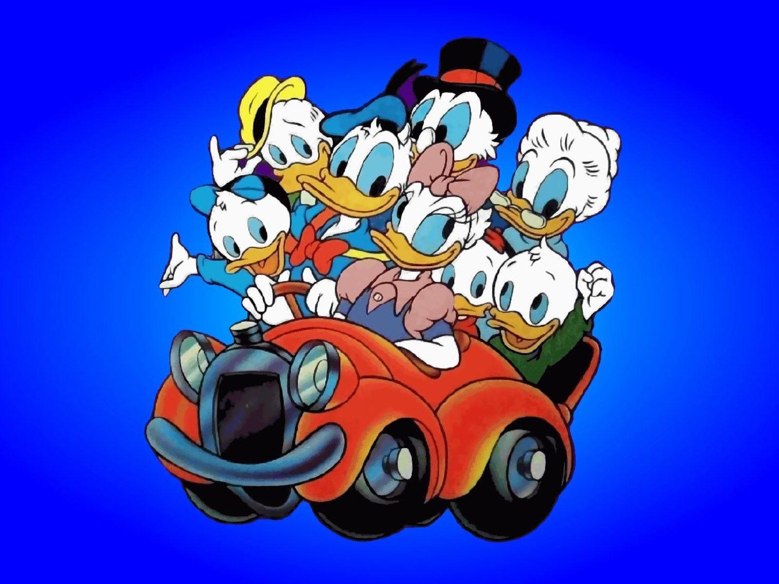 Donald Duck clipart car driving From Cartoon Car · Duck