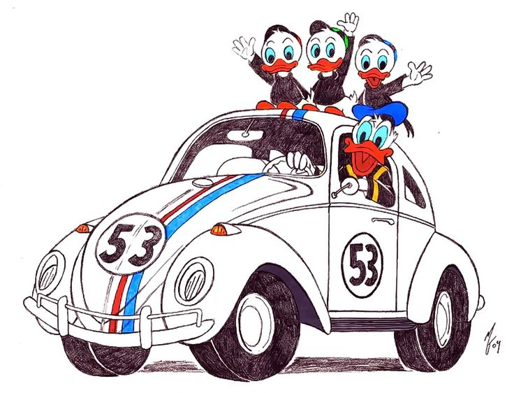 Donald Duck clipart car driving Duck Louie No 112 Duck