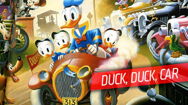 Donald Duck clipart car driving Know Duck's Everything Donald Urgently