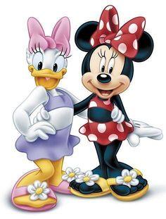 Donald Duck clipart disney summer WARNER Daisy DISNEY Minnie ~