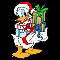 Donald Duck clipart donld Duck Clipart Duck cliparts Christmas