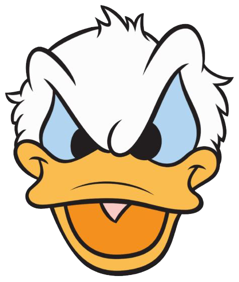 Donald Duck clipart mad Face 2 Download donald ClipartBarn