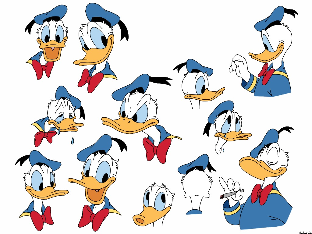 Donald Duck clipart mad @deviantART Duck on Draw Donald