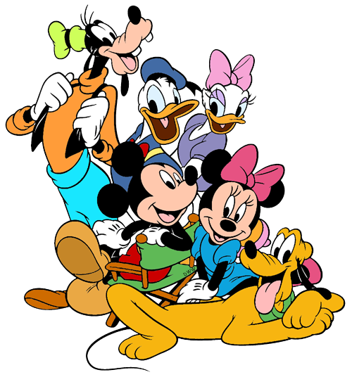 Donald Duck clipart minnie mouse  Mouse Mickey Duck Daisy