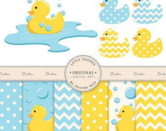 Bubble clipart duck Art Rubber Duck Rubber Set
