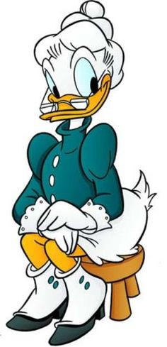 Donald Duck clipart pants Grandma Duck cartoons Duck