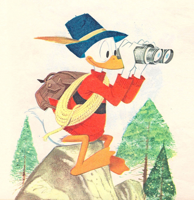 Donald Duck clipart sad Donald Imagineering Illustrated Donald