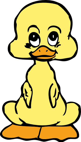 Donald Duck clipart sad Clip images baby  duck