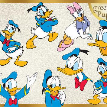 Donald Duck clipart tangled christmas light 32 Duck Art Donald Graphic