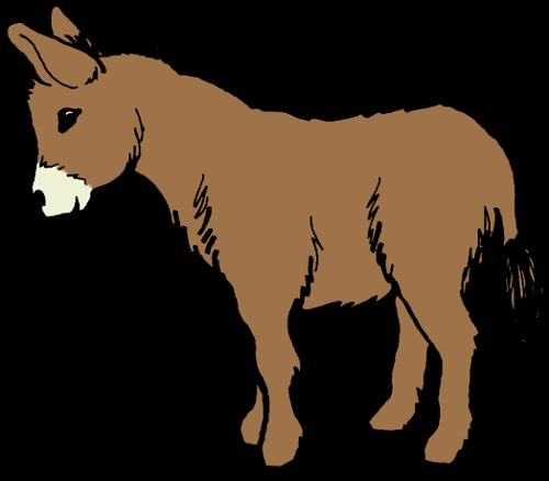 Donkey clipart Illustrations donkey clipartcotttage 2 clip