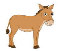 Donkey clipart Art Kb Graphics clipart character