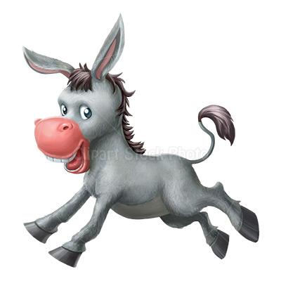 Mule clipart face Mule Image Stock Donkey Illustration