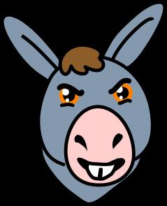 Mule clipart face Clipart Clipart Images Panda Free