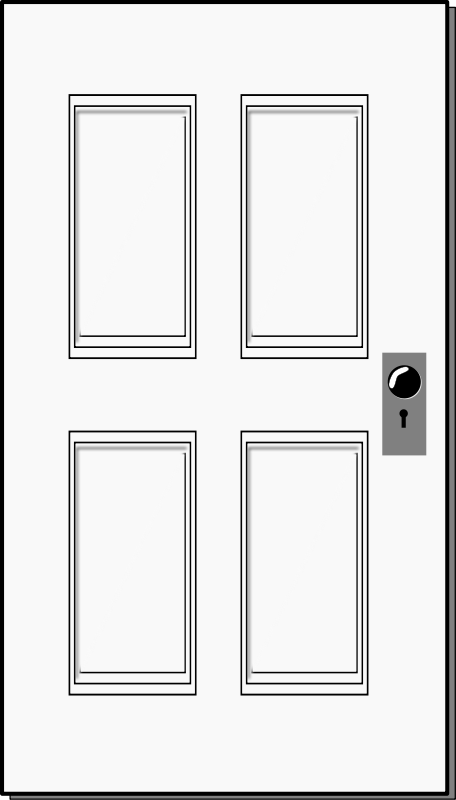 Door clipart Clipartfest Rectangle Cliparting Door com