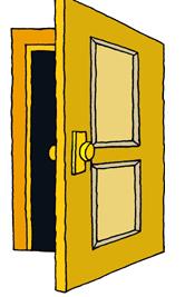 Open Door clipart Door Clipart Savoronmorehead Savoronmorehead Clipart