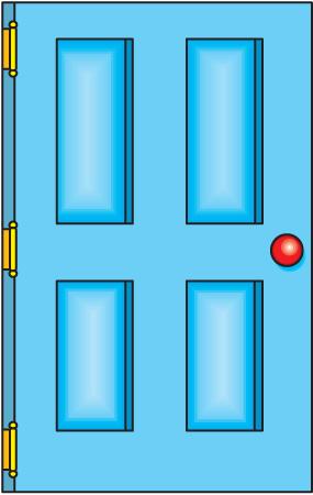 Door clipart bedroom door Don&Budge Free Art  When
