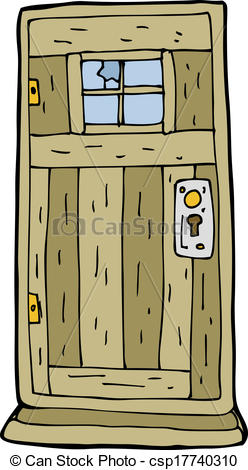 Door clipart cartoon #15