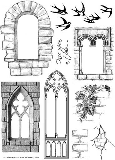 Windows clipart medieval castle Castle Castle Art Door Art