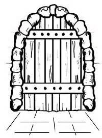 Doorway clipart castle The Secure castle Drawing castle