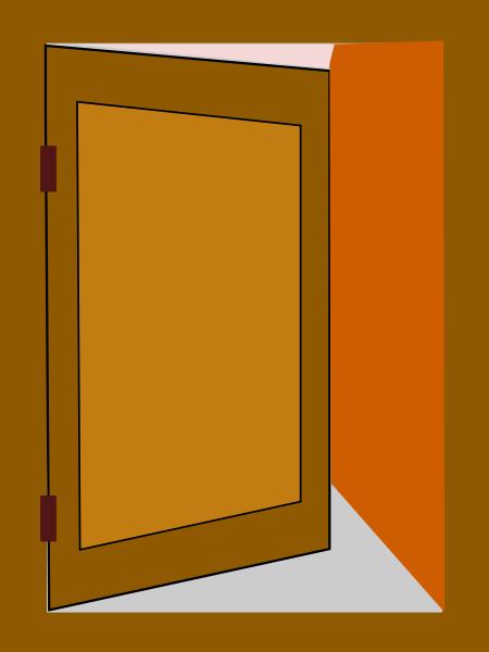 Doorway clipart cartoon #3