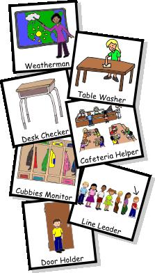 Door clipart classroom job Jobs Classroom