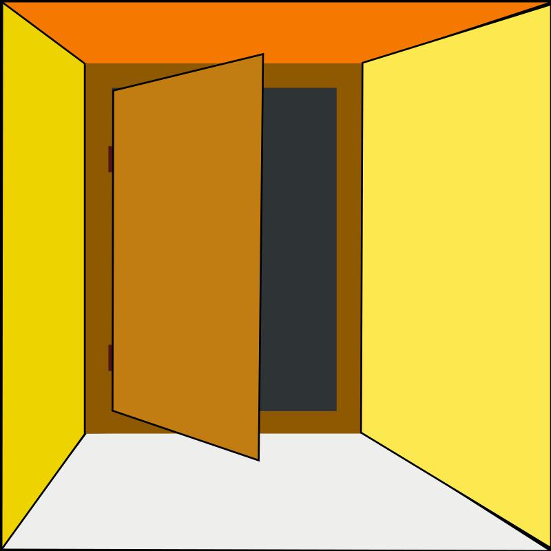 Door clipart closet door Closet open com Awesome images