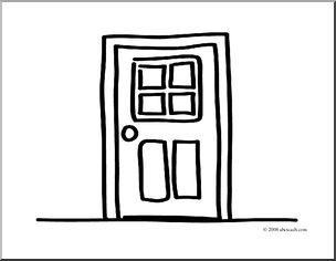 Color clipart door Door Coloring Pages & #10