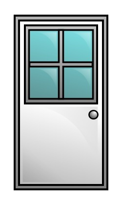 Door clipart cute door #8