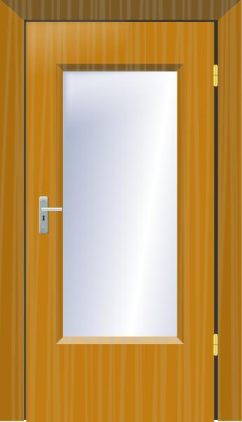 Door clipart door frame #6