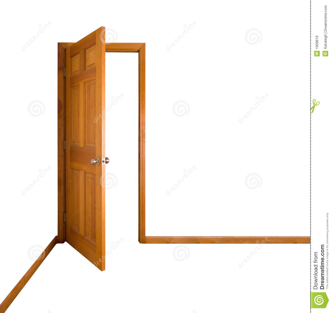 Door clipart door frame #9