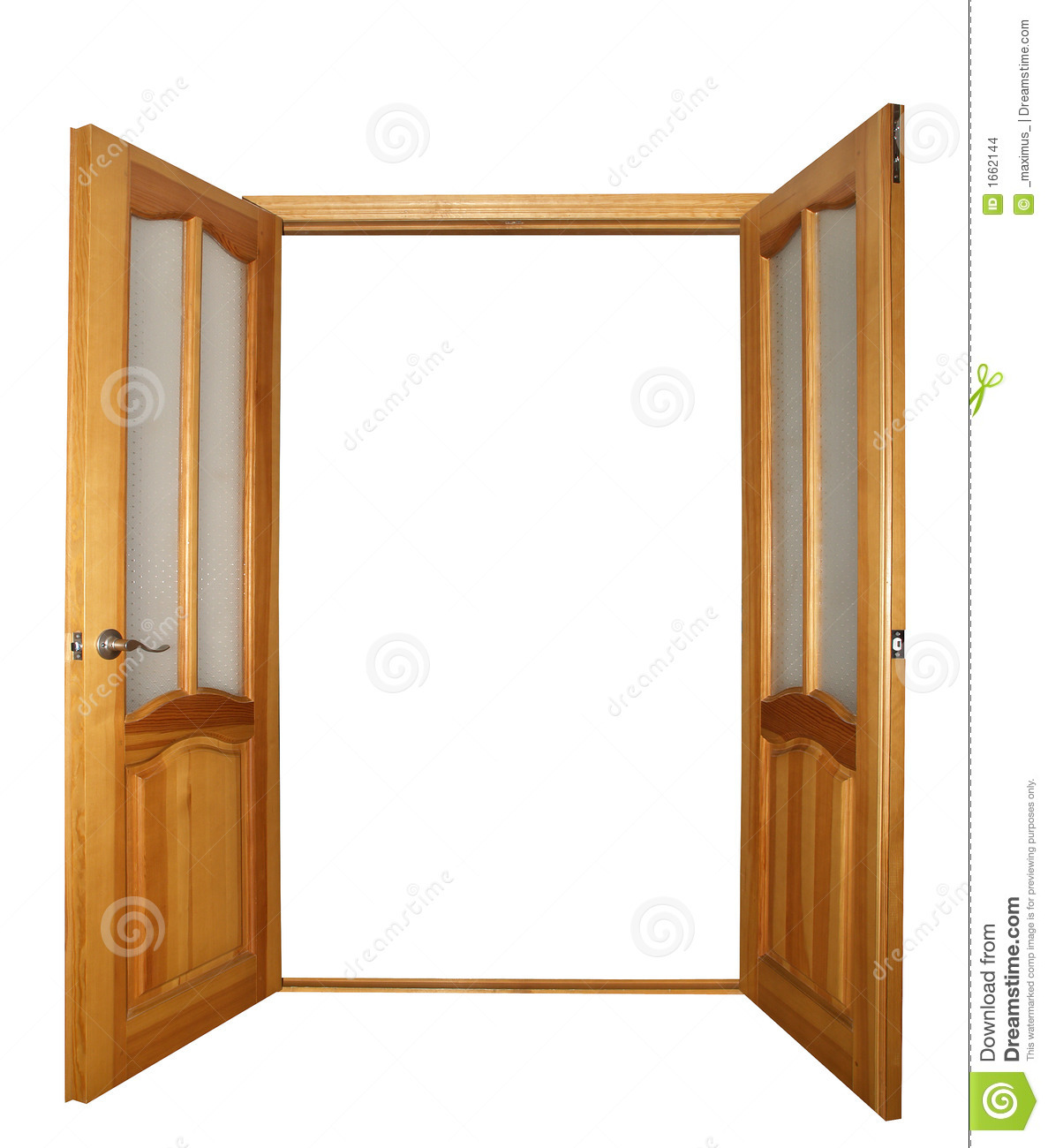 Door clipart door frame #4