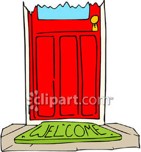Open Door clipart welcome mat Picture Clipart Mat Royalty Picture