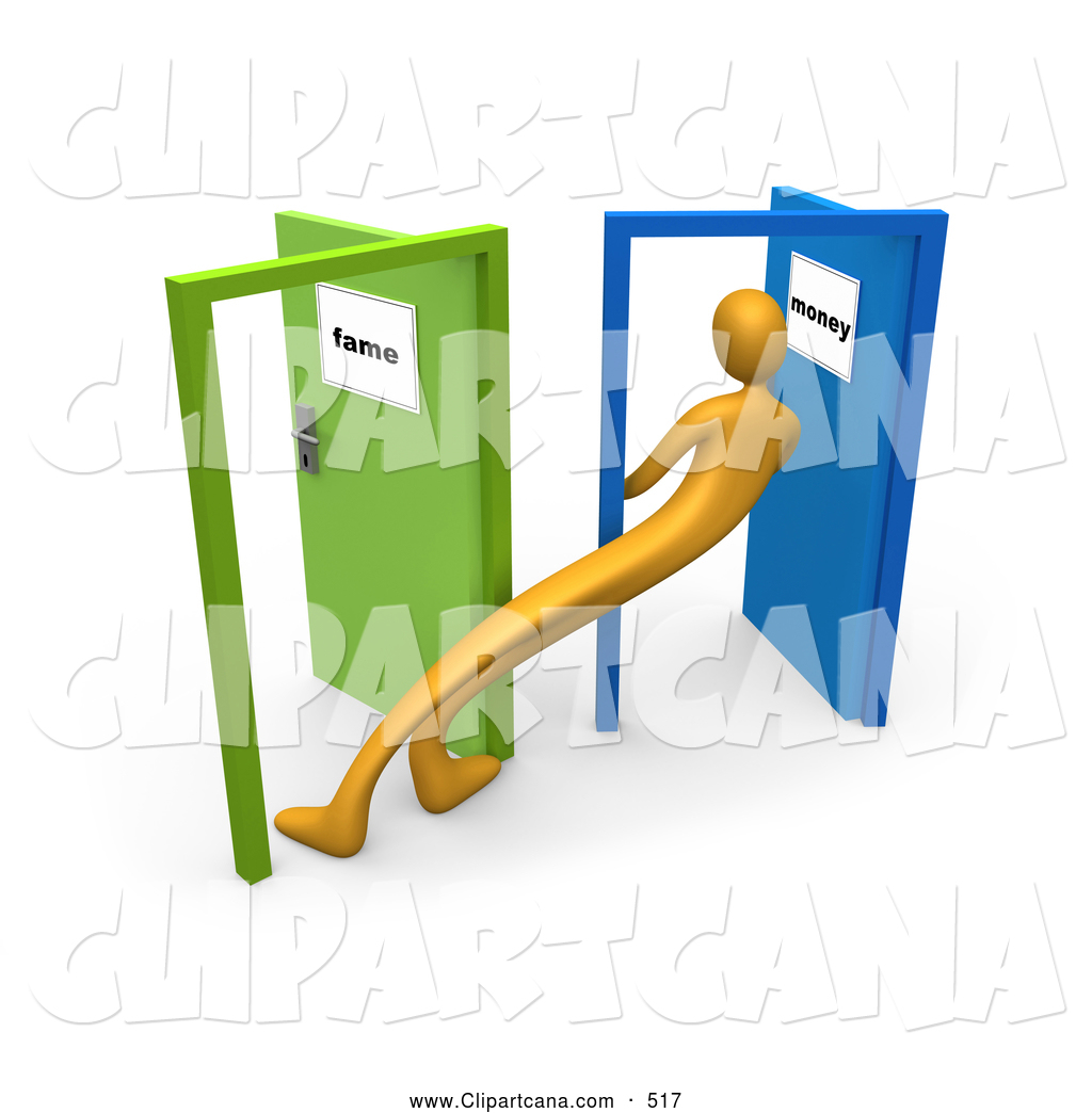 Doorway clipart person #2