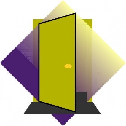 Door clipart doorway #12