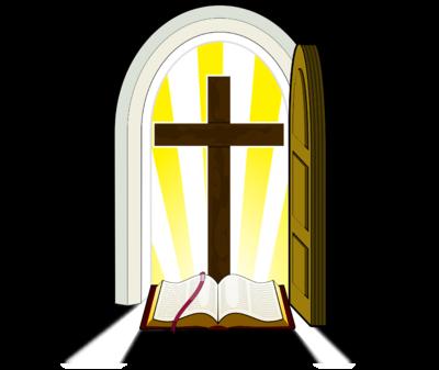 Open clipart opening door Cross Cross Doorway com Golden