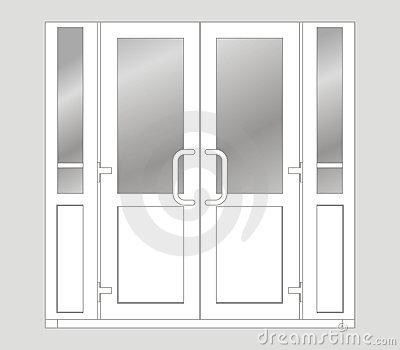 Open Door clipart double door Download Clipart double – door