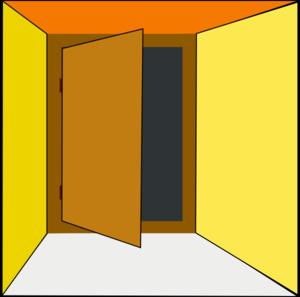 Doorway clipart exit door Exit Door Clip Art