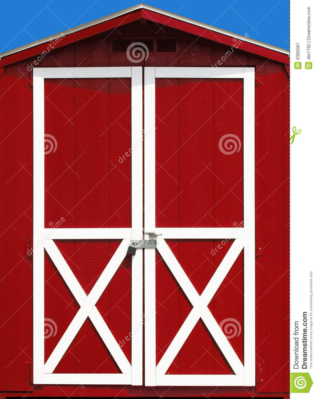 Barn clipart barn door Door Red Clipart Barn