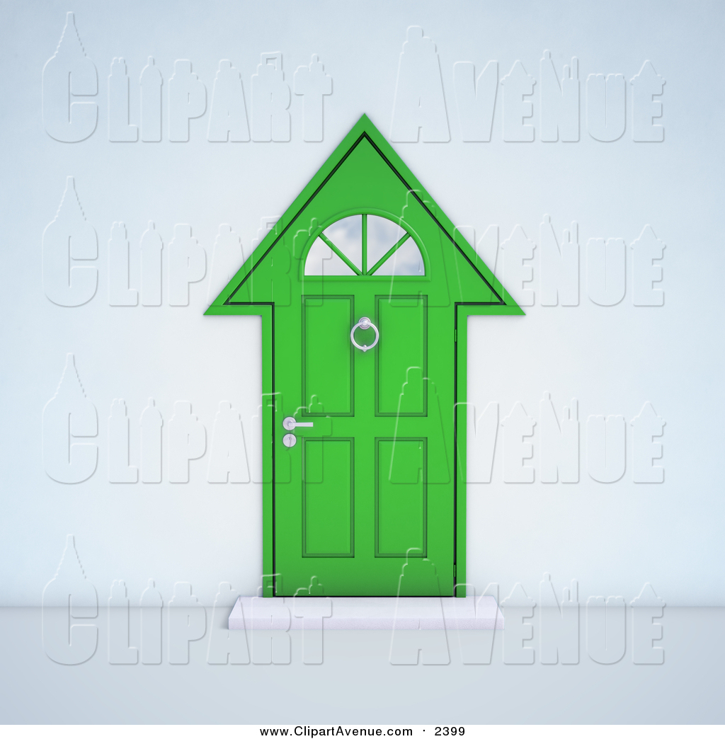 Doorway clipart front door #5