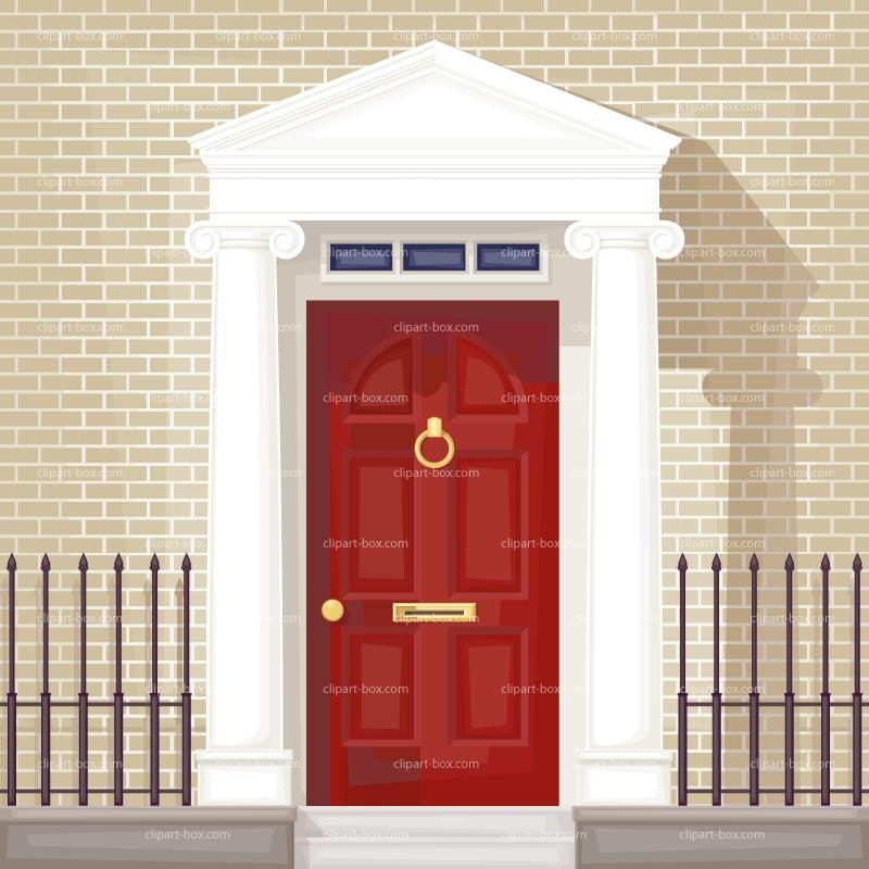 Doorway clipart front door #7