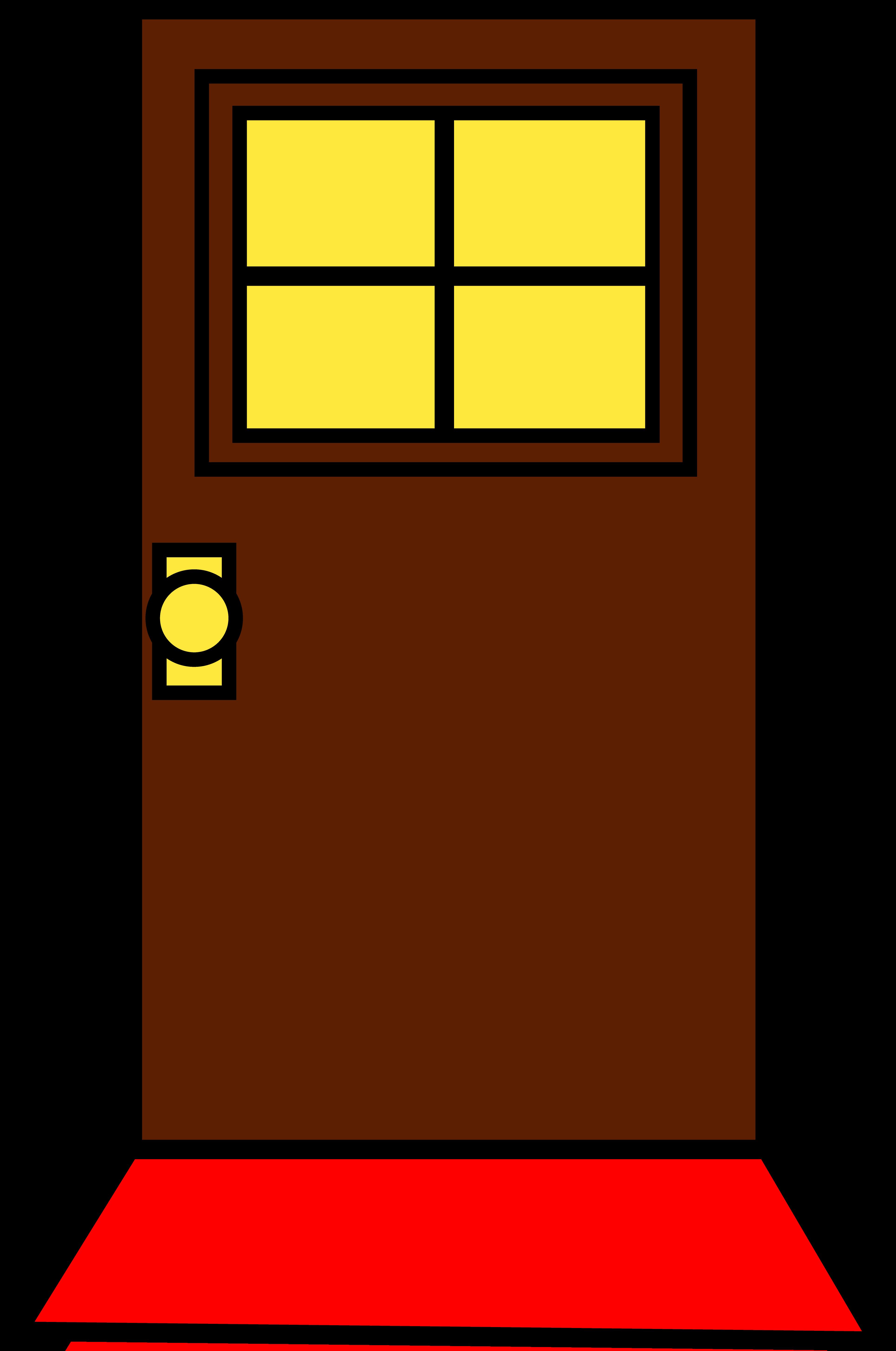 Door clipart funny January Leonard's Lines 2016 door