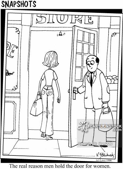 Door clipart funny Cartoon The Door 1 Door
