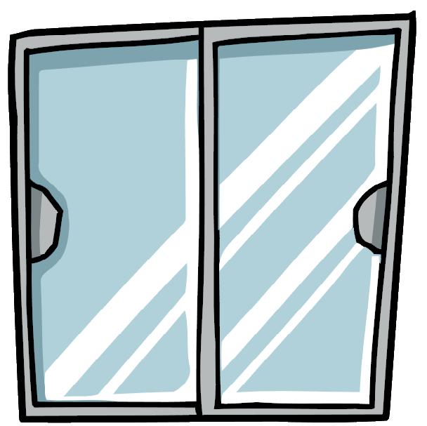 Door clipart glass door Door Sliding Scribblenauts Door Glass