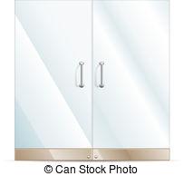 Door clipart glass door Clipart Glass 500 Glass and